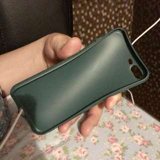 Iphone 7+ Green Soft Case