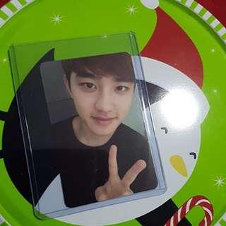 EXO D.O Exodus Photocard