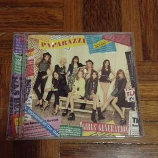 Girls generation Paparazzi album (Jpn)