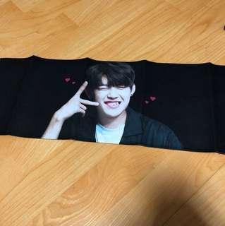 WANNAONE Park Woojin slogan LUVMYBOY (Korean Fansite)