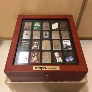 80週年 ZIPPO COLLECTION 紀念版 軍用火機 連收藏展示盒