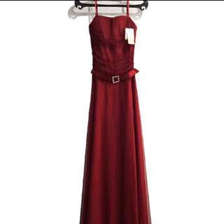 NEW Karimadon Maroon Long Gown