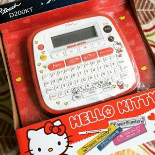 Hello Kitty Brother Label Printer
