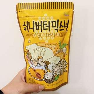 🇰🇷韓國 蜂蜜奶油 綜合堅果220g