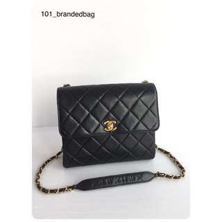 Chanel Calfskin Vintage Flap Bag