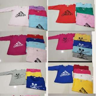 T-shirts unisex for 1 to 5yrs old ..