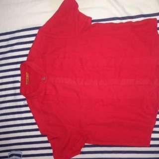 Crop red shirt