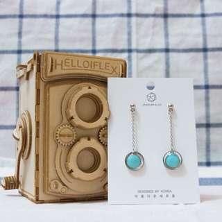 韓國耳環,新品
