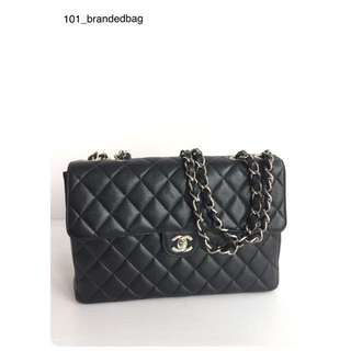 Chanel Caviar Vintage Jumbo Flap Bag