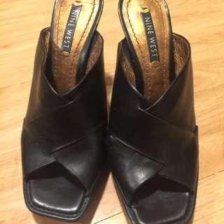 Nine West high heels sandals