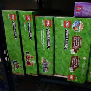 Preview: Lego Minecraft Available
