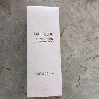 Paul and joe herbal lotion