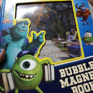 Monster u bubble magnet book