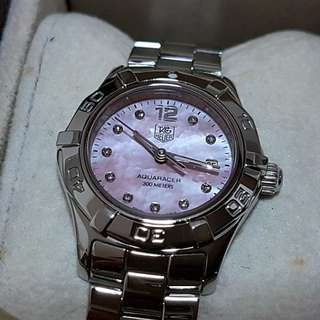 Tag Heuer Ladies Aquaracer MOP Diamond dial