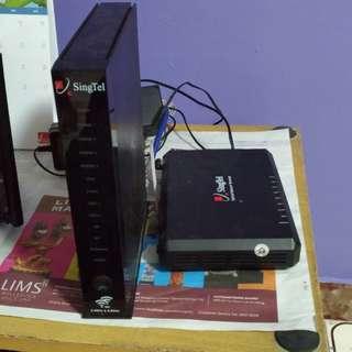 Aztech DSL7003GRV(AC)router.