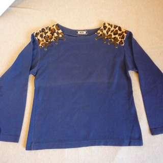 🚚 日本 豹紋上衣