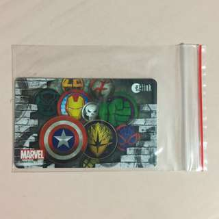 Limited Edition brand new Marvel Superheroes Design ezlink Card For $13.90.