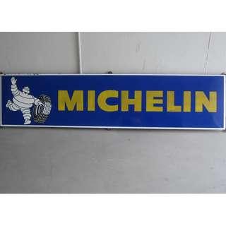 Michelin Enamel Signage