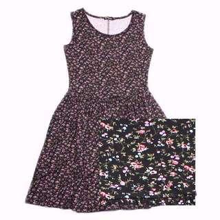Mother Daughter Matching Skater Dress Set - Floral