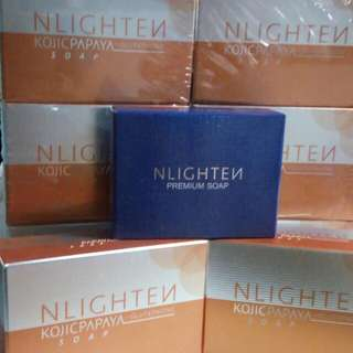 Nlighten whitening & anti-aging soap