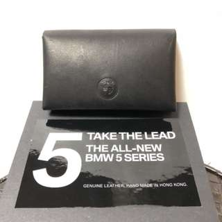 BMW 5 series Genuine Leather (Hand Made By BEIS leather) Card Holder