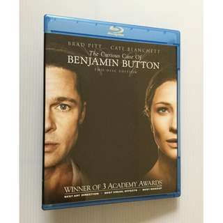 The Curious Case of Benjamin Button Blu Ray