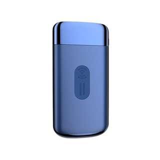 2018全新技術無線電源充電寶LED顯示屏 電筒照明 雙位USB有線快速充電 藍色 10000mAh 2.1A LED Display Quick Fast Charge Wireless Charging With Torch Dual USB Port Mobile Portable Power Bank ( BlueColor ) For iPhone X 8 Plus Samsung Galaxy S8 Plus Note 8 Nokia HTC LG Huawei ( Joyroom )