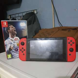 Used Nintendo Switch(red)