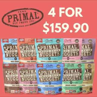 Primal Offers Back Again!!! Purchase 4 bags at $159.90 with free delivery and surprise gift!!!