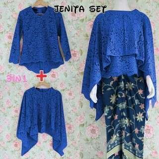 Baju batik 3 in 1