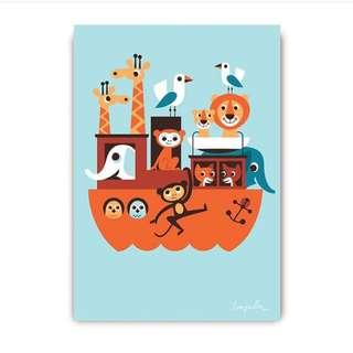 Noah Ark postcard