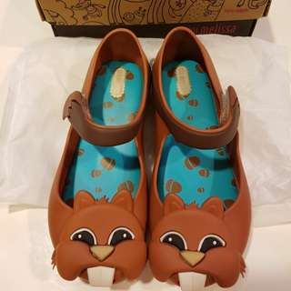 BN Authentic Mini Melissa Squirrel shoes US12