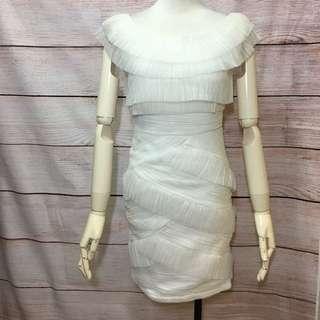 超美雪紡名媛女神洋裝。原價2980