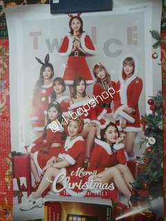 Twicecoaster Lane 2: Christmas Edition Poster