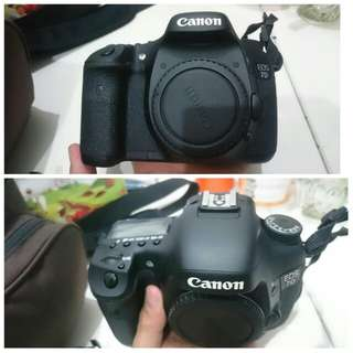 Camera canon eos 7D