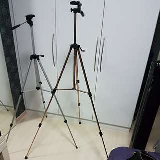 Two Camera Tripod Stands for Sale