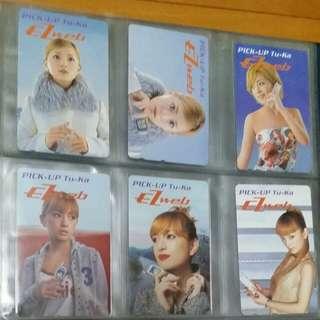 18張日本電話卡
