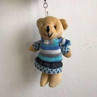 🚚 小熊吊飾