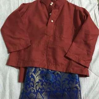 Baju melayu+samping