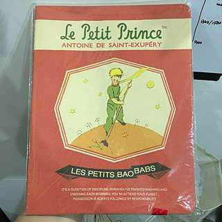 Let Petit Prince ( The Little Prince) Grid note book