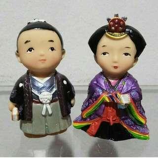Pajangan Boneka Jepang Couple Kecil