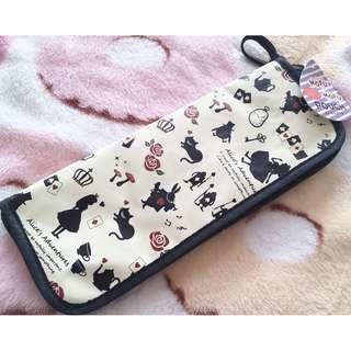 日本版 - Alice in wonderland Mofu Pouch Umberalla Case 迪士尼愛麗絲雨傘 遮吸水袋 套