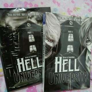 Hell University by: KnightInBlack