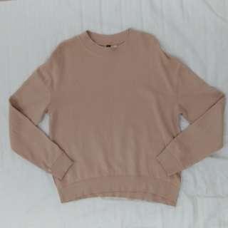 H&M Rose Nude Sweater