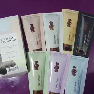 Innisfree color clay color play trial kit