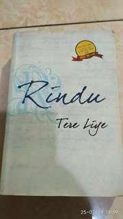 Novel Rindu Tere Liye