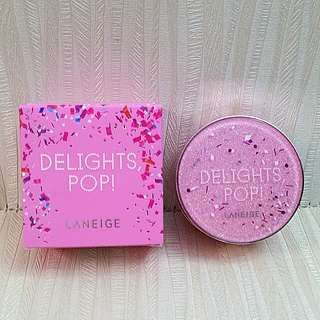 BN Laneige Cushion Blusher Roly Pink Pop (Delights, Pop!) with free BN Traditional Japanese Pouch
