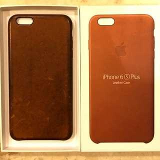 ORI Apple iPhone 6s PLUS Leather Case Saddle Brown