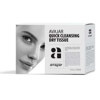 Avajar Quick Cleansing Dry Tissue 15ea