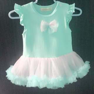 Turquoise Tutu Dress